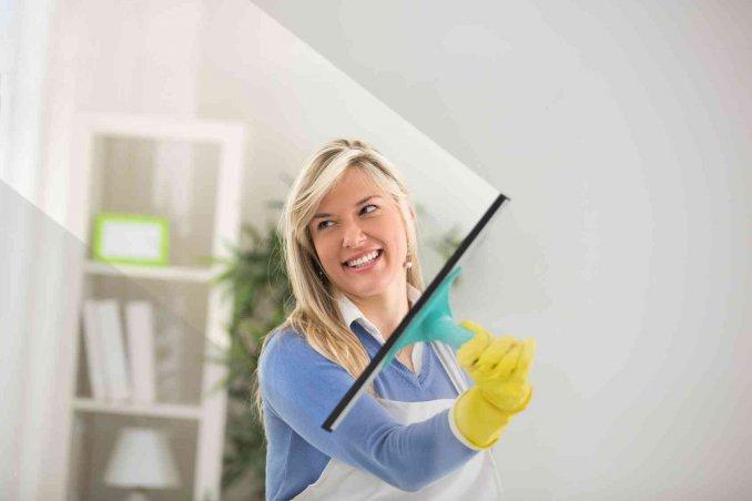 come pulire i vetri interni ed esterni