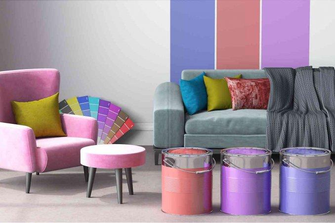 Divano Pelle Arancione : Come tingere e colorare un divano donnad