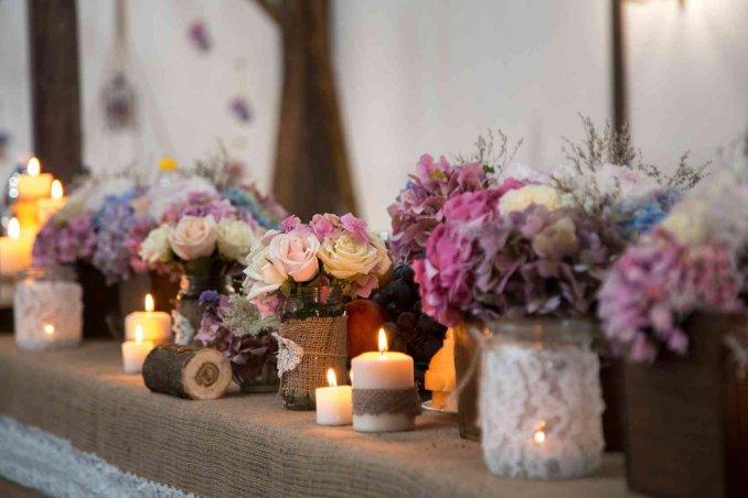 Fiori per matrimonio quali scegliere per addobbi e - Addobbi tavoli matrimonio casa ...