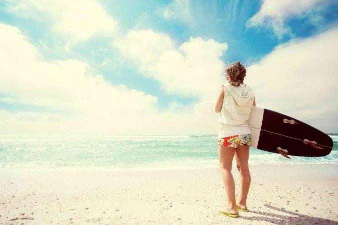 Dove fare surf in Italia