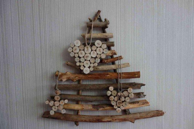 Alberi Di Natale In Legno Da Appendere : Albero di natale fai da te idee per il riciclo creativo donnad