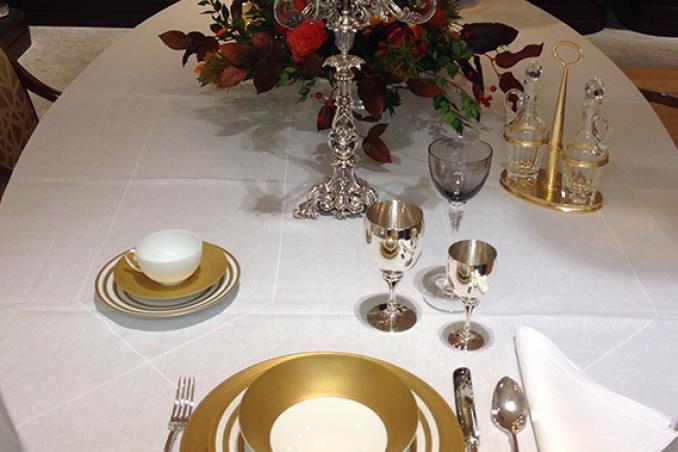 Decorazioni Da Tavola Per Natale : Il bon ton della tavola per le feste di natale e capodanno donnad