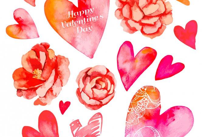 Decoupage di san valentino le decorazioni floreali donnad - San valentino decorazioni ...