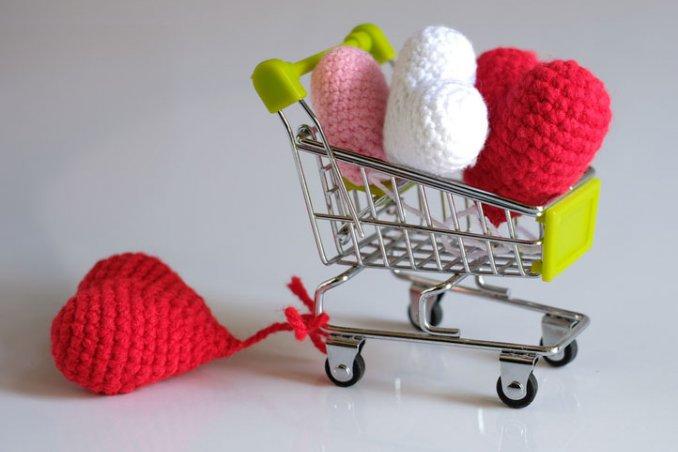 cuori uncinetto san valentino, decorazioni san valentino, decorazioni san  valentino cuori crochet, cuori