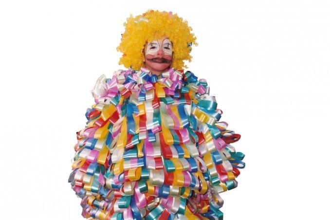 Costumi Di Carnevale Originali Il Vestito Da Pagliaccio Fatto Con I