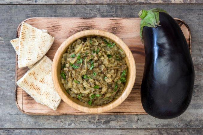 baba ganoush, ricette, cucina mediorientale