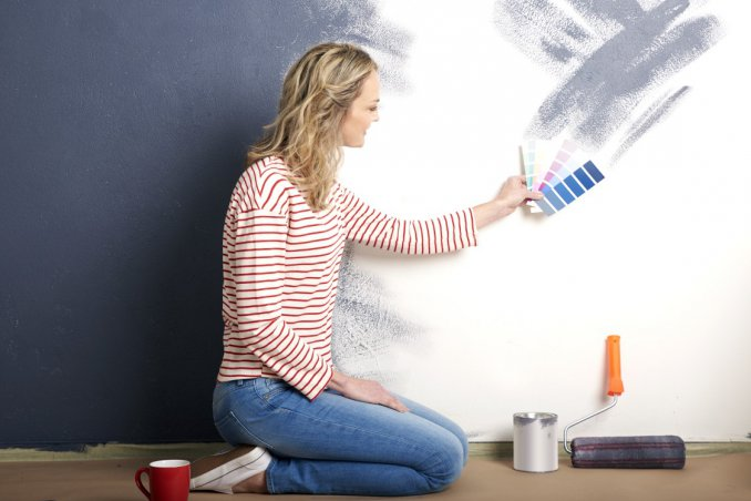 Come rinnovare casa dipingendo o rivestendo le pareti donnad for Rinnovare casa