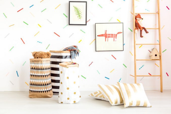 Come decorare in maniera low cost la cameretta dei bambini for Decorare una stanza con palloncini