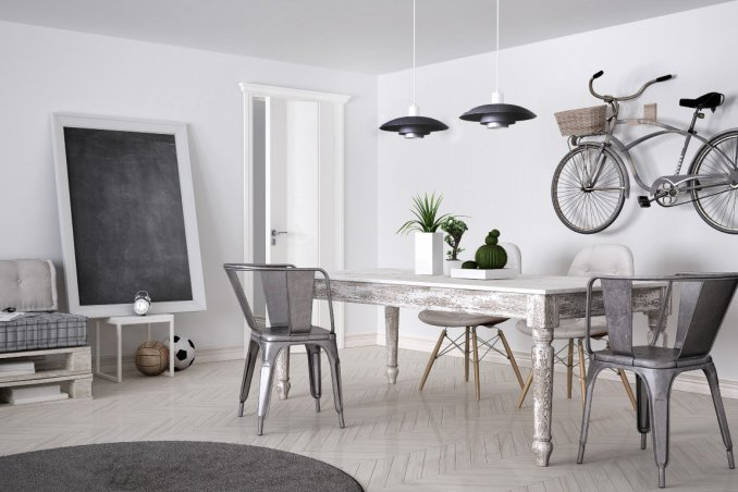 Interior design in stile industriale 5 complementi per for Casa stile industriale