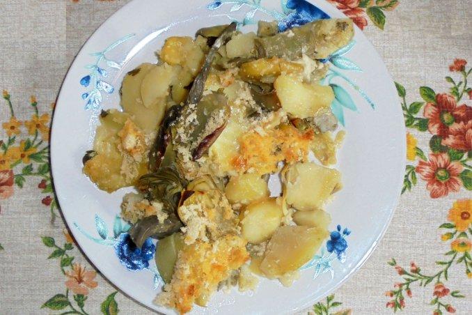Sformato di carciofi e patate la ricetta facile e veloce for Cucinare i carciofi