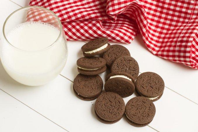 ricette dolci, biscotti Oreo, cioccolato
