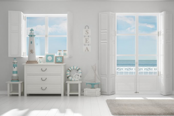 Come arredare la casa al mare in stile mediterraneo donnad for Arredare piccole case al mare