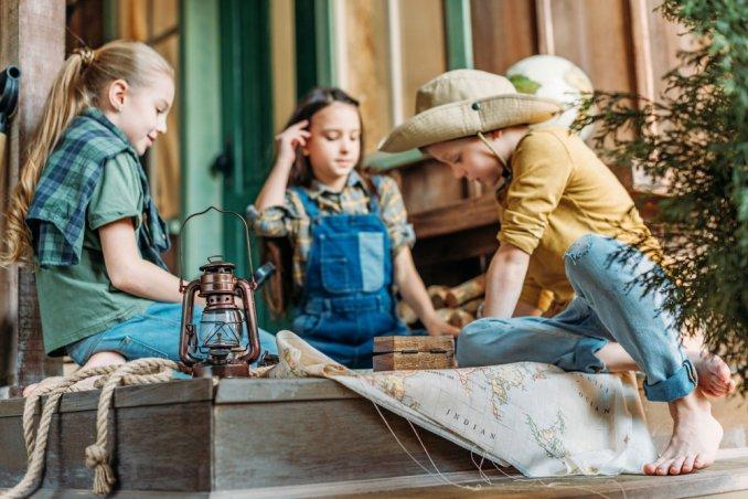 Caccia Al Tesoro Bambini 5 6 Anni : Caccia al tesoro per bambini prove divertenti donnad