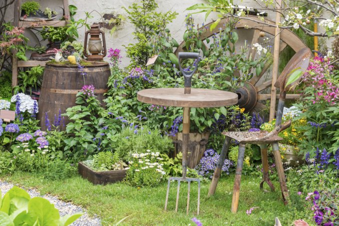 Estremamente Come arredare il giardino con 7 idee da copiare | DonnaD BB39