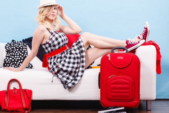 pianificare viaggio, preparare valigia