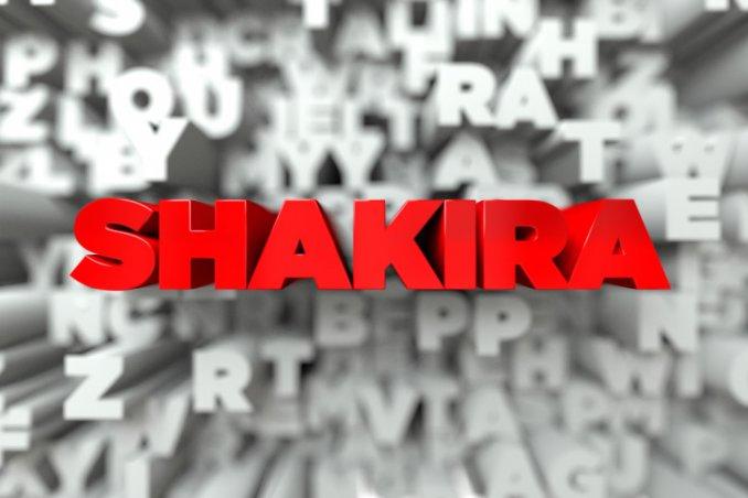 shakira, video clip, me enamoré