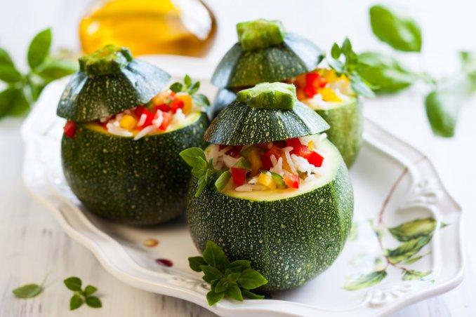 zucchine, ricette, vegetariano