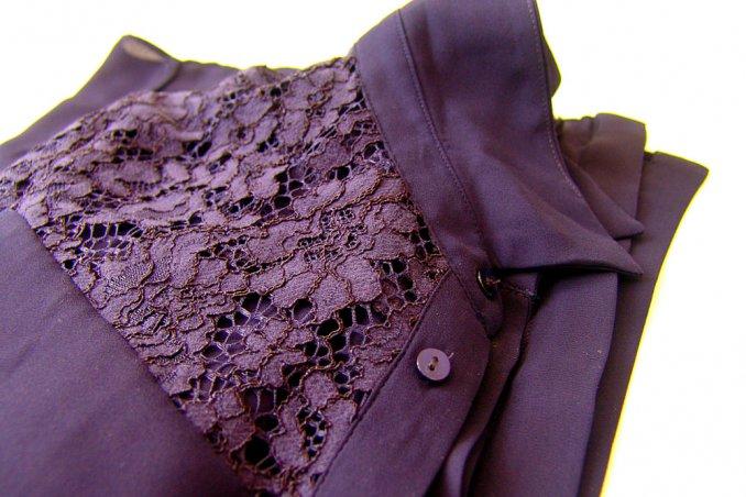 detailed look db005 04700 Come coprire lo strappo di una camicetta anche senza cucire ...