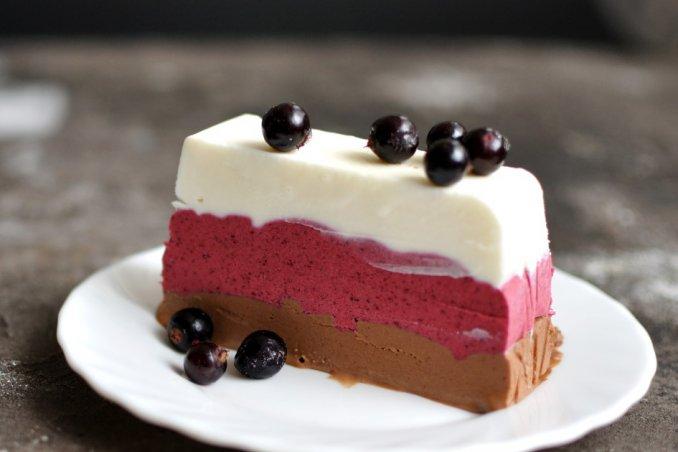 torta gelato, fatta in casa, ricette dolci