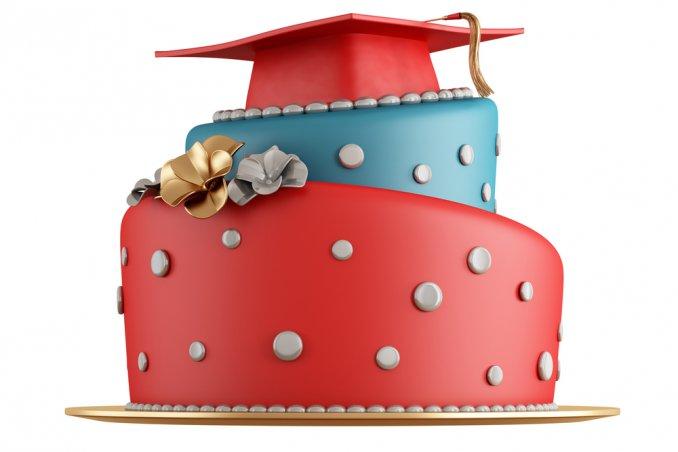 Torte per la laurea 5 decorazioni in pasta di zucchero for Laurea in design
