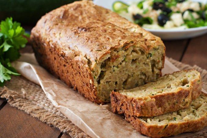 zucchini bread ricetta, zucchine ricette dolci