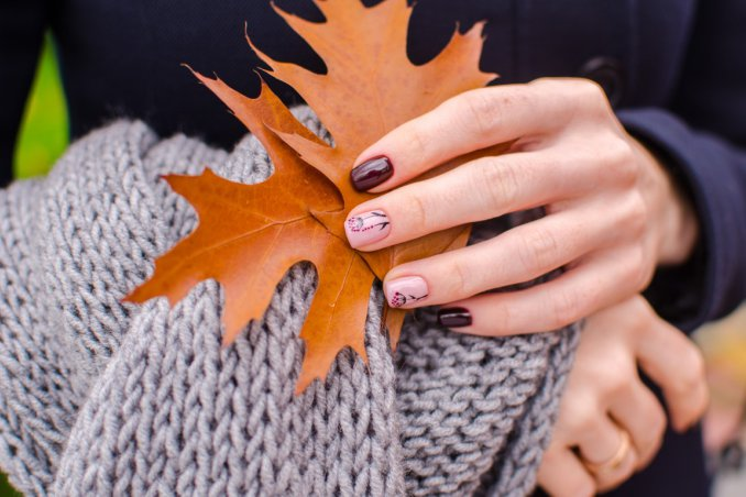 nail art, decorazione unghie, tendenze autunno 2017