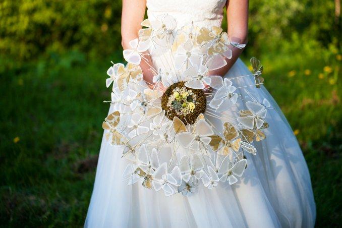 Bouquet Sposa Senza Fiori.Bouquet Da Sposa Originali Senza Fiori 7 Idee Fai Da Te Donnad