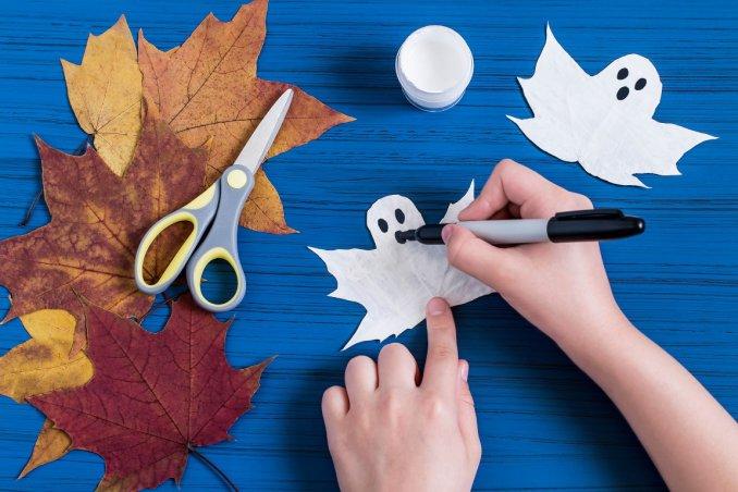 I lavoretti facili per halloween da fare in casa donnad - Idee facili per decorare casa ...
