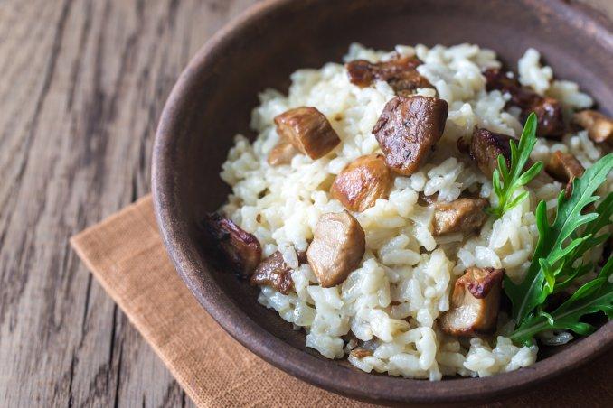 risotto, funghi, ricette