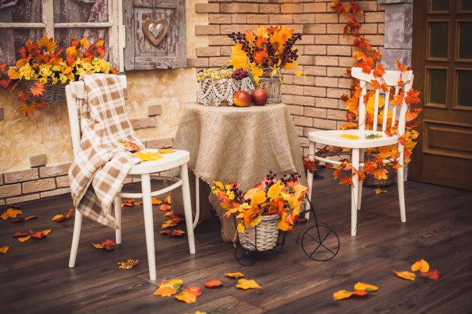 Decorazione Finestre Autunno : Le idee per decorare la casa d autunno con il fai da te semplice