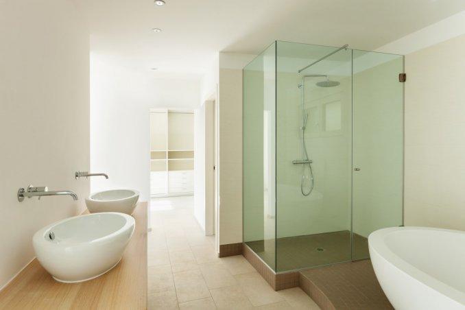 Pareti Per Doccia In Vetro : Parete in vetro per doccia: box doccia cabina con vasca doccia vetro