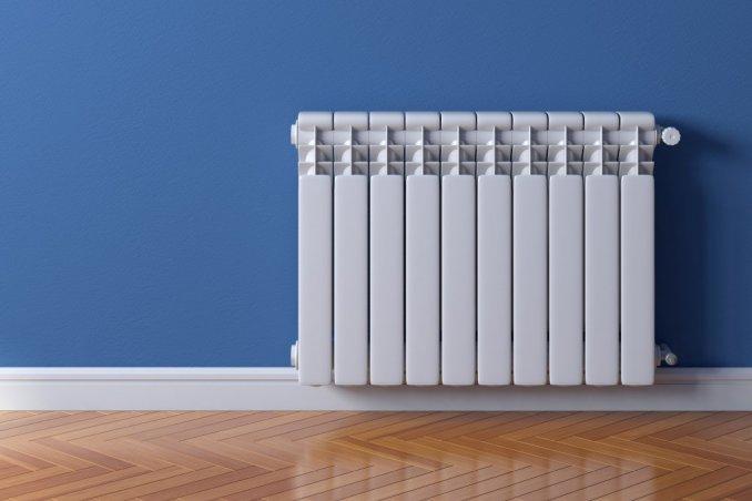pulizia dei termosifoni
