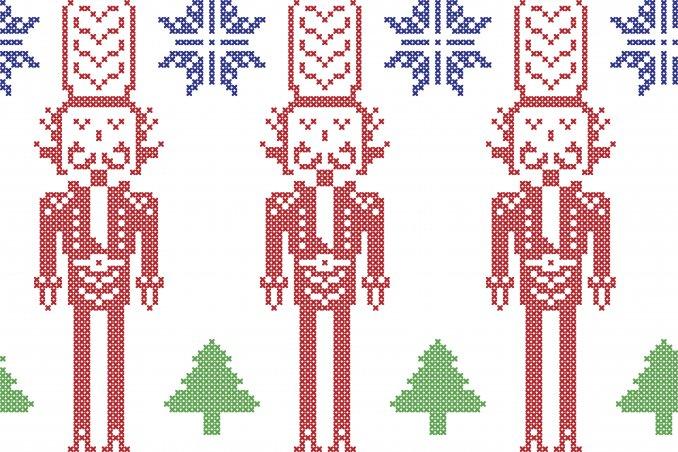 Disegni Di Natale Particolari.5 Schemi Particolari Per 5 Idee Originali Donnad