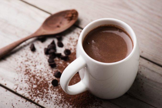 cioccolata calda, cacao amaro, ricetta