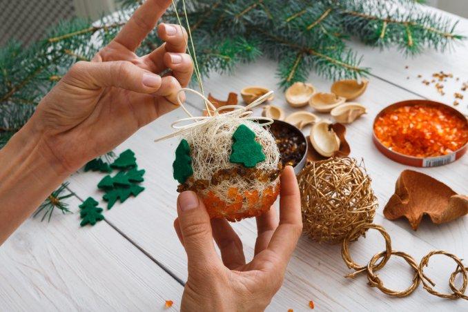 Idee Cucito Per Natale : Addobbi per l albero di natale fai dai te donnad
