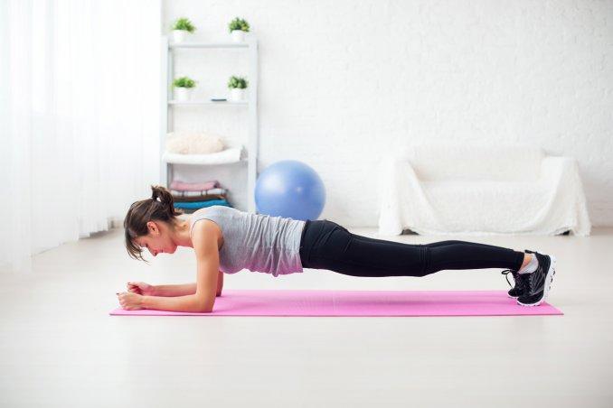 addominali plank, plank video, plank spiegazioni