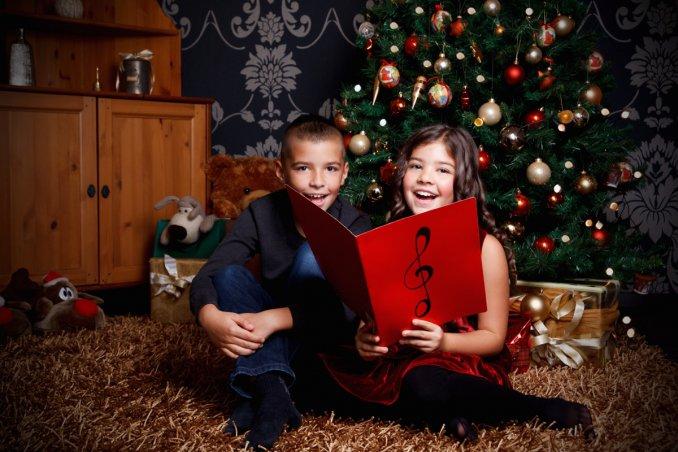 christmas carols bambini