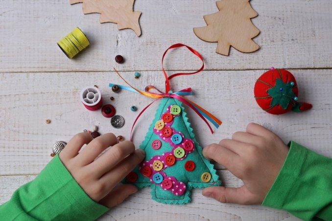 Decorazioni Fai Da Te Di Natale : Le decorazioni di natale semplici per i bambini donnad