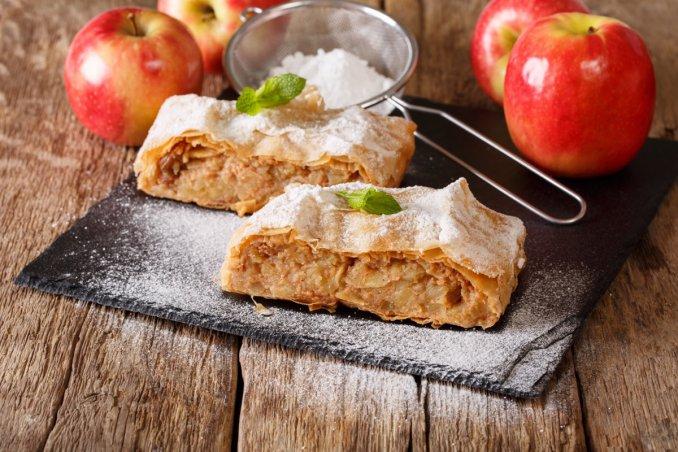 strudel di mele, ricetta altoatesina, dolci