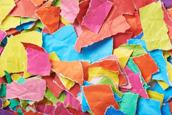 riciclo creativo di carta e decorazioni, spunti riciclo creativo carta