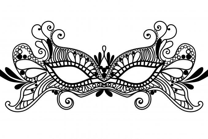 troppo belli: i modelli e la tecnica della maschere con la colla a
