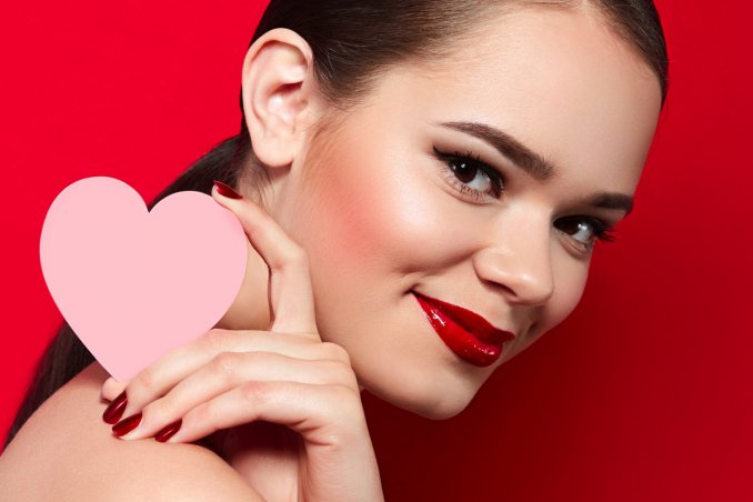 san valentino, make-up, tutorial trucco