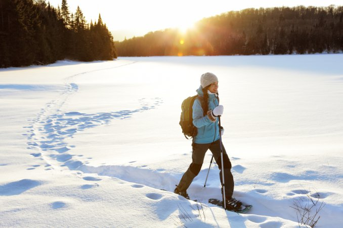 passeggiare, neve