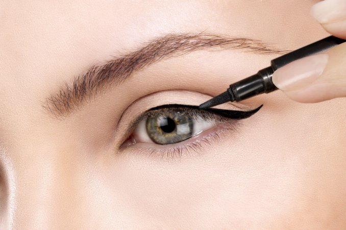 eyeliner, trucco, occhi