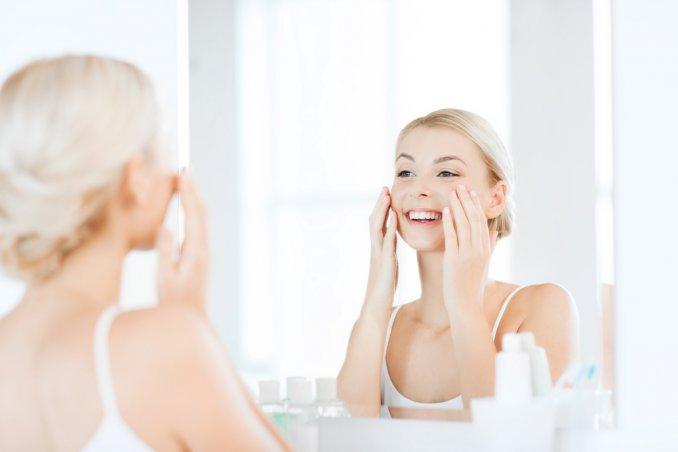 donna, specchio