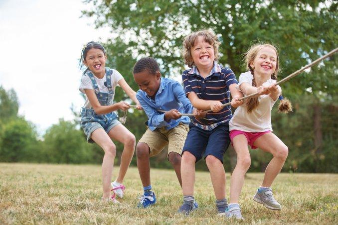 Giochi Di Squadra Per Bambini Da Fare All Aperto Donnad