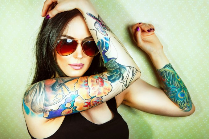 tatuaggio, donna