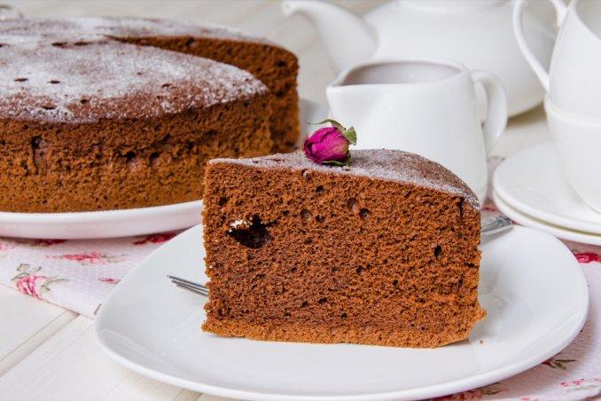 Torte Da Credenza Al Cioccolato : Pan di spagna al cioccolato la ricetta per una torta soffice donnad