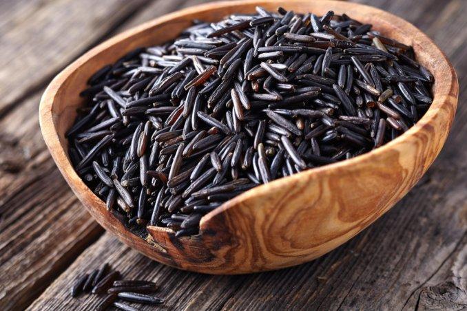 riso selvatico canadese, proprietà, cereali