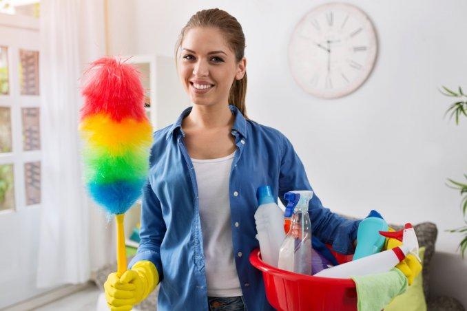 pulizie domestiche, far brillare casa, lavori domestici